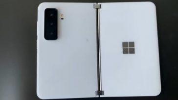 Microsoft Surface Duo 2 Leaked Images Reveal Triple Cameras!